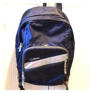 LL Bean Deluxe Bookpack Backpack